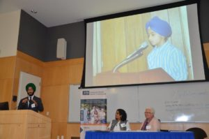 Discussion about bullying directed at Sikh-American children at the 2017 National Interfaith Anti-bullying Summit